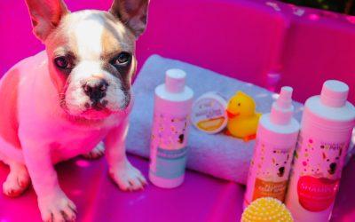 Baby Milos First Bath